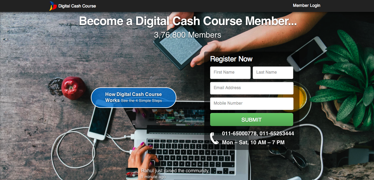 Digital Cash Course