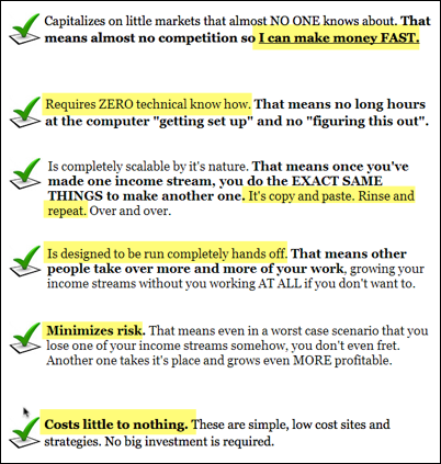 Forever Affiliate Sales Page 1