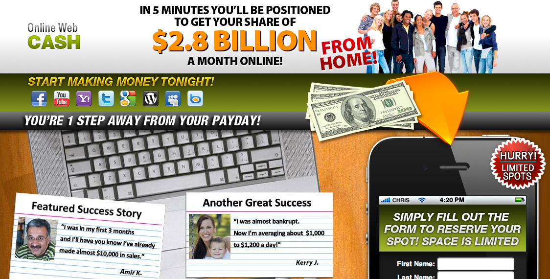 Online Web Cash