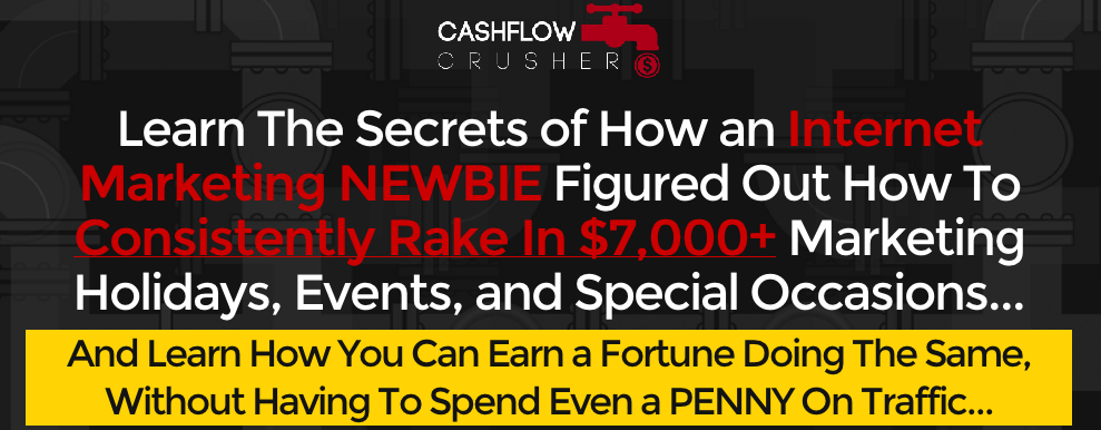 Cash Flow Crusher Review