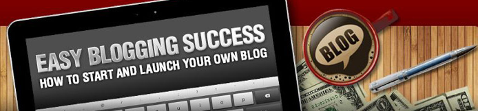 Easy Blogging Success Header