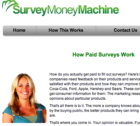 Survey Money Machine Review