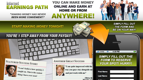 Internet Earnings Path Review