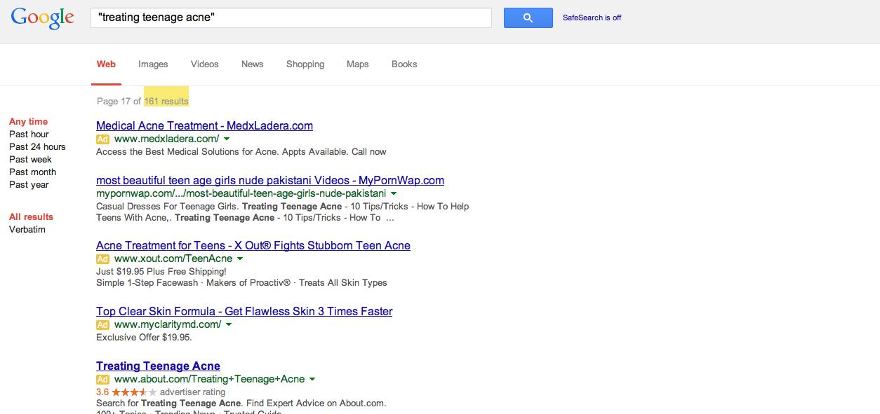 Google Keyword Method