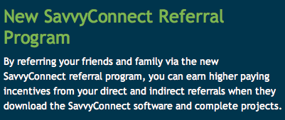 Savvy Connect Affiliate Program