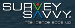 Survey Savvy Header